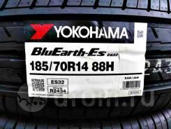 Yokohama BluEarth-ES ES32,*Расширенная Гарантия - 1 ГОД. При грыже,порезе - бесплатная замена шины!, 185/70 R14