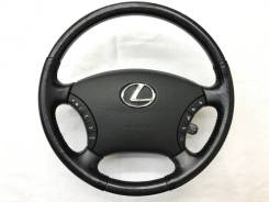 Оригинальный руль с косточкой под чёрное дерево Lexus