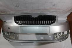 Бампер передний Skoda Octavia (A7) (2013 - 2017 ) оригинал