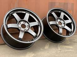 Volk Racing TE37 Корея 17 5x112 ковка 7.7кг Hyper Black