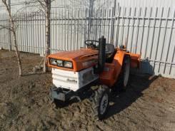 Kubota B1400. Kubota B1600. Трактор 16 л. с., 3 цилиндра, 4WD, ножной газ, фреза, 16 л.с.