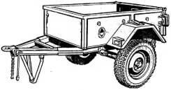 УАЗ-8109. Прицеп Уаз 8109