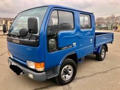 Nissan Atlas. 4WD двухкабинный+бортовой, 2 700куб. см., 1 500кг., 4x4