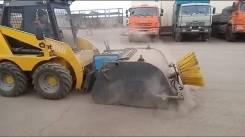 Щетка дорожная / коммунальная на мини погрузчик ANT 750/1000/3000
