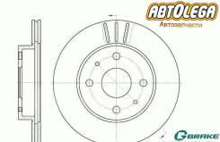 Диск тормозной G-brake Toyota DUET M1 Passo #C1# Storia M1# YRV M20#