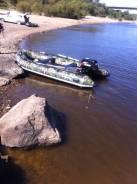 Лодка ПВХ Штурман, с мотором Сузуки 30