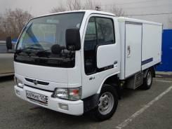 Nissan Atlas. рефрижератор 4ВД категория В, 3 200куб. см., 1 500кг., 4x4