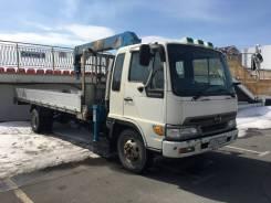 Hino Ranger. Бортовой грузовик с манипулятором , 6 600куб. см., 3 500кг., 4x4
