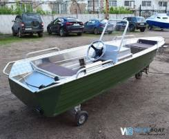 Купить лодку (катер) Wyatboat-390 У с консолью