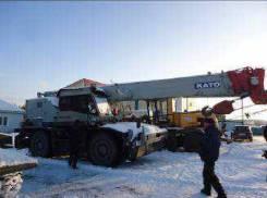 Kato KR-25H-V. Кран самоходный , В г. Омске, 44,00м. Под заказ