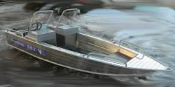 Купить лодку Wyatboat-390 У с консолями