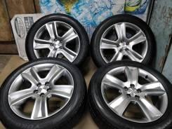 "Продам Фирменные колёса Чёр. Хром Subaru Legacy Outback+Лето 215/55R17. 7.0x17"" 5x100.00 ET48 ЦО 56,0мм."