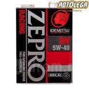 Idemitsu Zepro Racing. 5W-40, синтетическое, 4,00л.