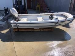 Лодка Boston Whaler с мотором Yamaha 15