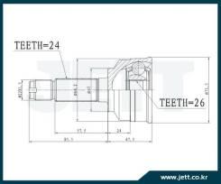 ШРУС внешний JETT V41-9461