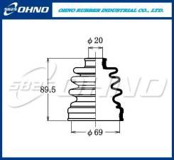 Пыльник привода 5`825 FB-2067 OHNO FB2067