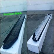 Подножки пороги Lifan X50 c 2015г Premium-Black