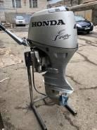 Honda. 40,00л.с., 4-тактный, бензиновый, нога L (508 мм), 2004 год