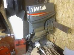 Yamaha. 55,00л.с., 2-тактный, бензиновый, нога S (381 мм), 2009 год