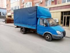 ГАЗ 3302. Продается авто газель 3302, бортовой тент, 2 500куб. см., 3 500кг., 4x2
