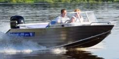 Купить лодку (катер) Wyatboat-490 Pro под водомет