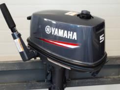 Yamaha. 5,00л.с., 2-тактный, бензиновый, нога S (381 мм), 2013 год