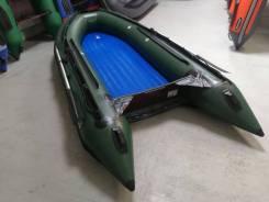 Надувная лодка Solar 380 Maxima, киль, надувное дно, БУ