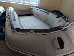 Бу надувная пвх лодка Штормлайн HD 430