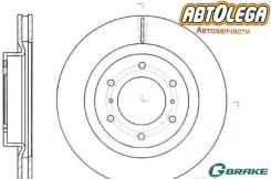 Диск тормозной передний G-brake MMC Pajero V97W, V98W
