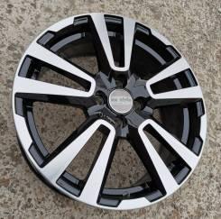 Новые литые диски K&K КС874 на Lada Vesta, Largus R17