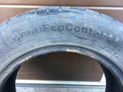 Continental ContiEcoContact 5. летние, 2015 год, б/у, износ 50%