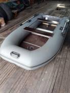 Тонар Капитан Т300. 2014 год, длина 3,00м., двигатель без двигателя, 10,00л.с., бензин