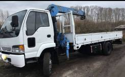 Isuzu Forward. Продам манипулятор isuzu forward, 8 200 куб. см., 5 000 кг., 4x2