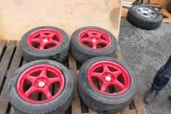 """Комплект дисков Advan Rally R16 с резиной. 8.0x16"""" 5x100.00 ET38"""