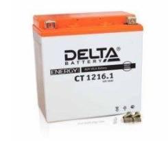 Аккумулятор Delta CT1216 емк.16 А/ч; п. т.200А