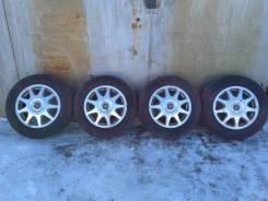 """Оригинальный комплект колес Cresta R15 б/п РФ. 6.5x15"""" 5x114.30 ET50 ЦО 60,1мм."""