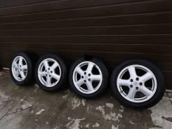 """Оригинальный колеса Toyota Chaser Tourer V разноширокие б/п РФ. 6.5/7.5x16"""" 5x114.30 ET50/50 ЦО 60,1мм."""