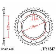 Звезда ведомая задняя JT JTR1847.46 XT250 Serrow