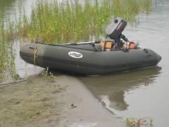 Лидер. 2005 год, длина 2,35м., двигатель подвесной, 2,00л.с., бензин
