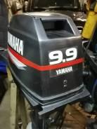 Yamaha. 15,00л.с., 2-тактный, бензиновый, нога S (381 мм), 2000 год