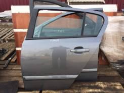 Дверь задняя левая Opel Astra H hatchback 5d серая