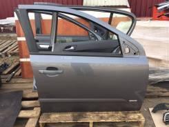 Дверь передняя правая Opel Astra H серая