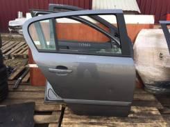 Дверь задняя правая Opel Astra H 5d серая