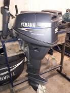Yamaha. 9,90л.с., 4-тактный, бензиновый, нога L (508 мм), 2000 год