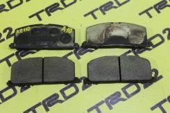 Колодки тормозные Toyota AE100/AE110/EL51/EL41/EP90 передние Оригинал!