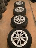 """Продам комплект колес Toyota Prius на 16 с зимней резиной. 6.0x16"""" 5x114.30 ET55 ЦО 73,0мм."""