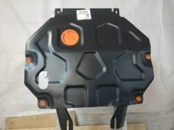 Защита картера и КПП на Mitsubishi Outlander PHEV, установка