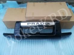 Защита Переднего Бампера Toyota Land Cruiser Prado 120 Черная