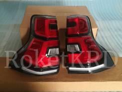 Задние фонари Toyota Land Cruiser Prado 150 09-17 г стиль 2018 GDJ150