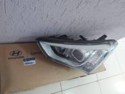 Фара левая галоген Hyundai Santa FE 3 Новая ОРИГ(2015-2019) 921012W116
